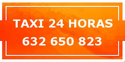 Taxi 24h SOLO VIAJES DE LARGA DISTANCIA. 632 650 823